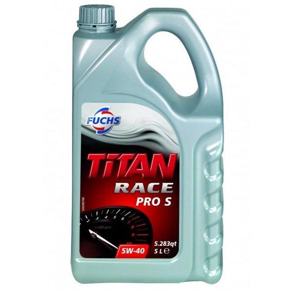 Fuchs Silkolene Titan Race Pro S 5W-40 Ester Vol Synthetisch Motorolie 5L