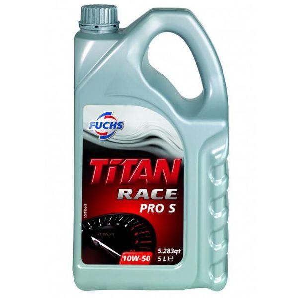 Fuchs Silkolene Titan Race Pro S 10W-50 Ester Vol Synthetisch Motorolie 5L