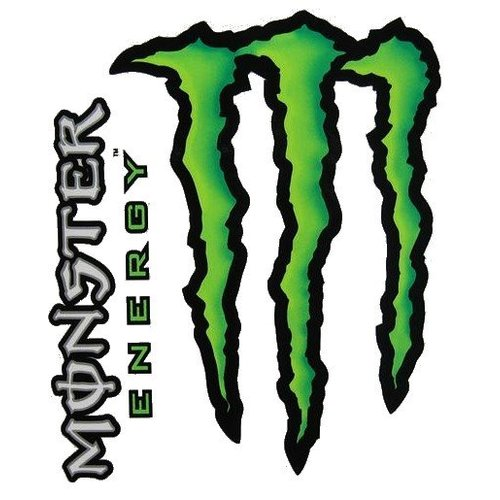 Monster Energy Stickerset 2 Delig