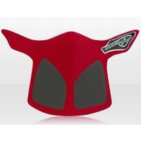 Respro Antifog Crosshelm Masker Rood voor Motorcrosshelmen