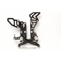 PP Tuning Triumph Speed Triple 1050 Rem Schakel Set 2011-2015
