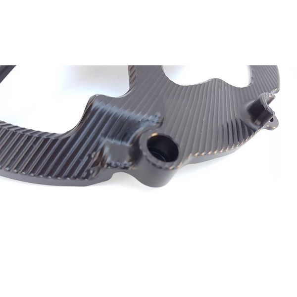 PP Tuning BMW-S1000RR Koppelingsdeksel Beschermer Protector Zwart Geanodiseerd