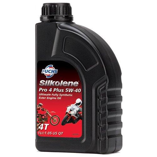 Fuchs Silkolene Pro 4 XP 5W-40 Vol Synthetisch Motorolie 1L