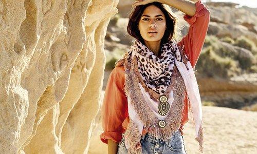 Handgemaakte sjaals