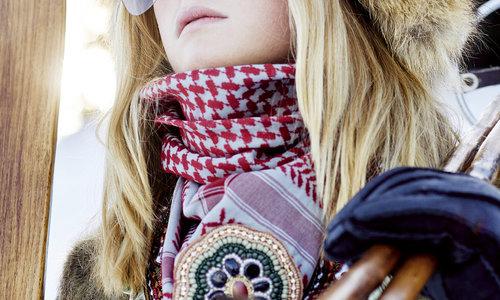 Bufandas hechas a mano