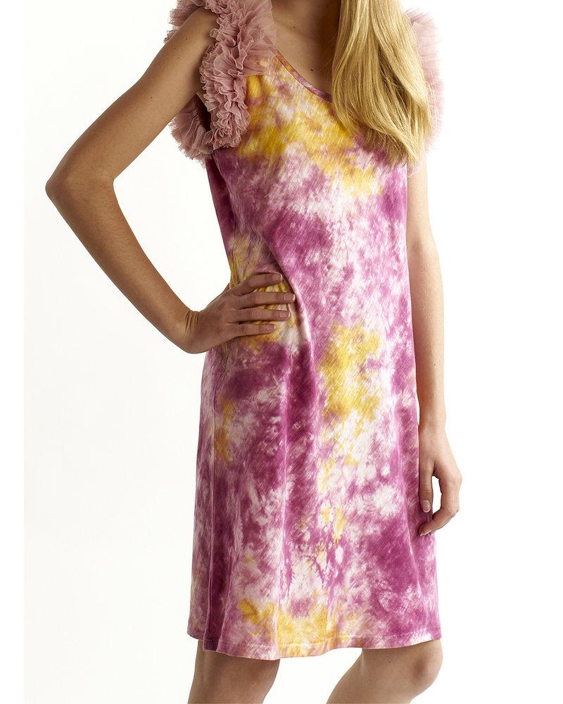 Izuskan Biarritz short tule dress