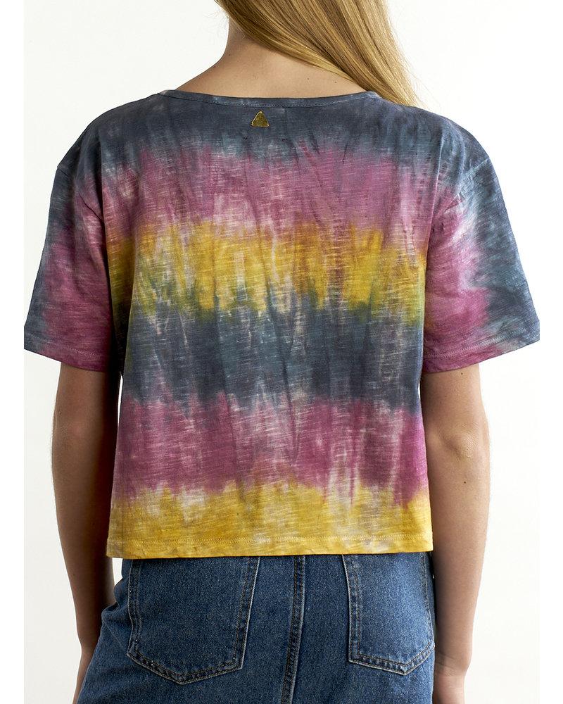 Izuskan Miami vice wijde T-shirt