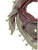 Izuskan Izuskan kleiner 1001 Nächte Schal in der Farbe Stein