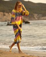 Californication long dress tie dye