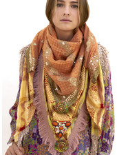 Izuskan Madame de Rosa style Limited scarf & facemask