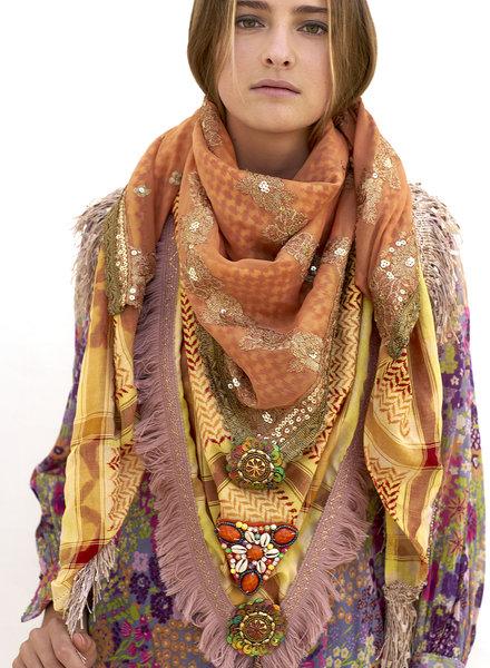 Izuskan Madame de Rosa Style Limited bufanda y mascarilla