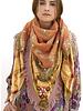 Izuskan Izuskan sjaal & gezichtsmasker Madame de Rosa