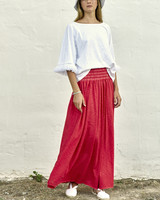 Izuskan Long basic skirt