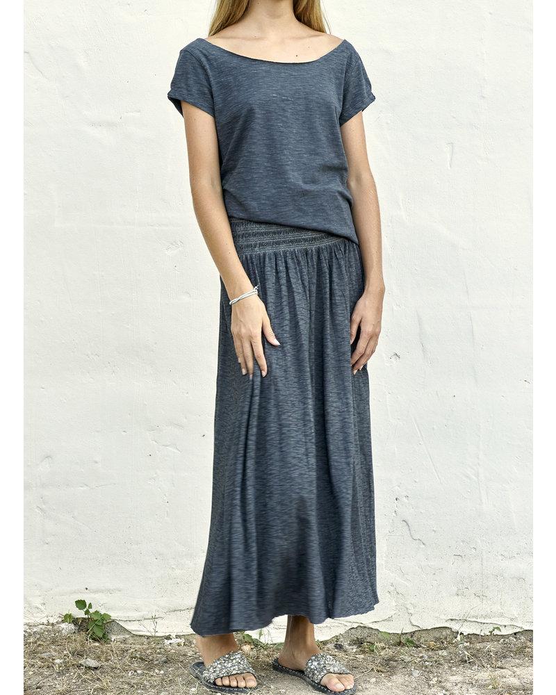 Izuskan Kurzes Basic-Shirt