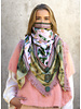 Izuskan Großer Originalschal mit integrierter Gesichtsmaske