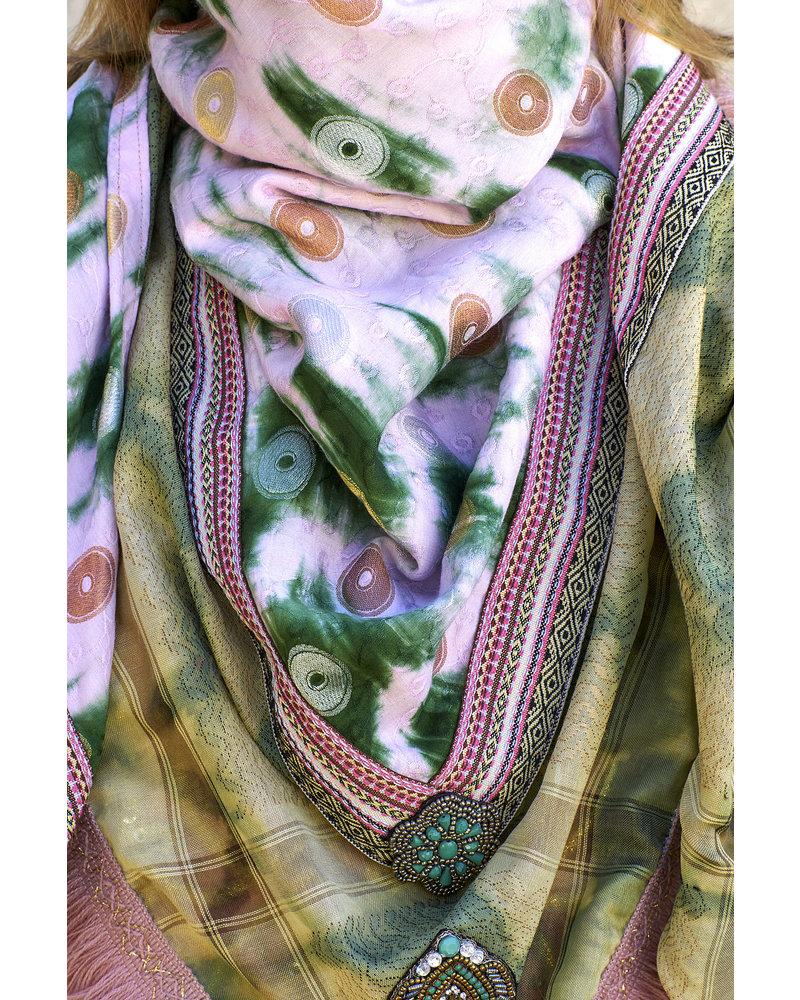 Izuskan Grote originele sjaal met geïntegreerd gezichtsmasker