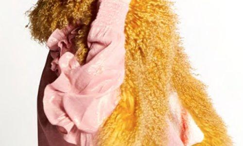 Sjaal met Tibetlamm