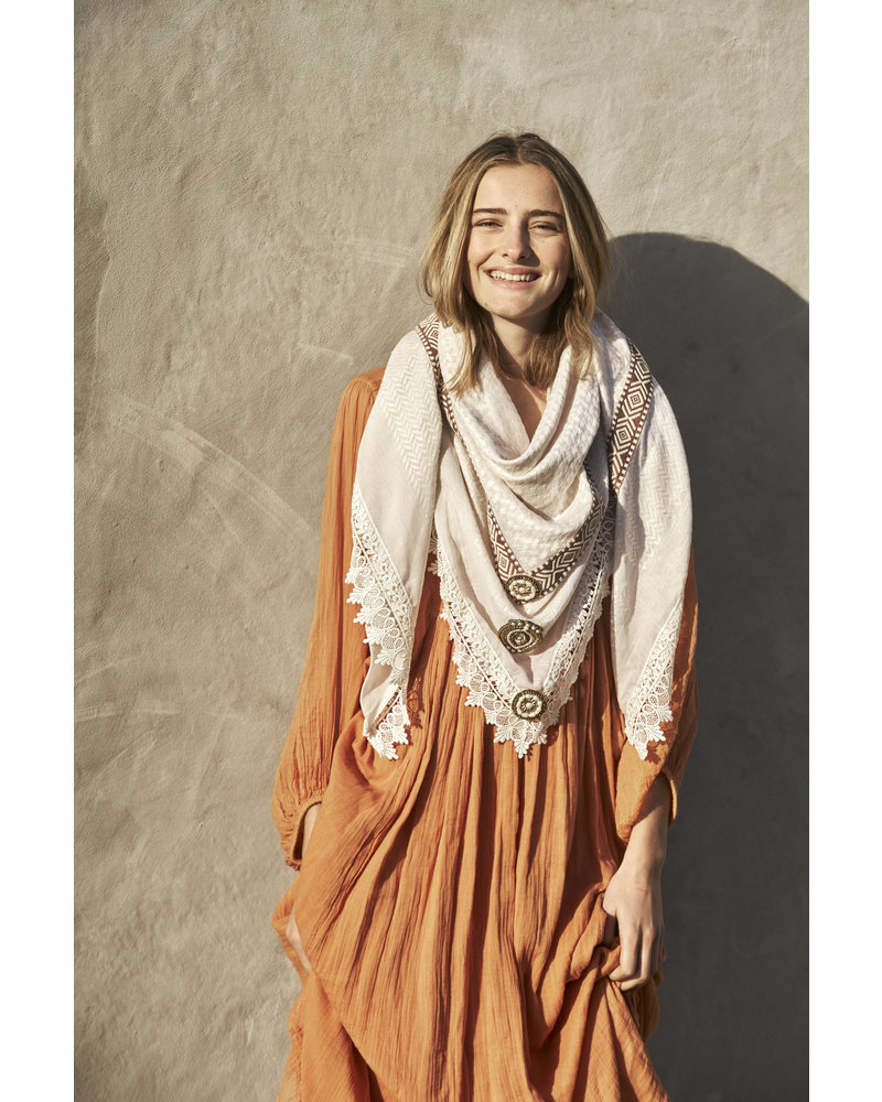 Izuskan Izuskan large scarf pebbles