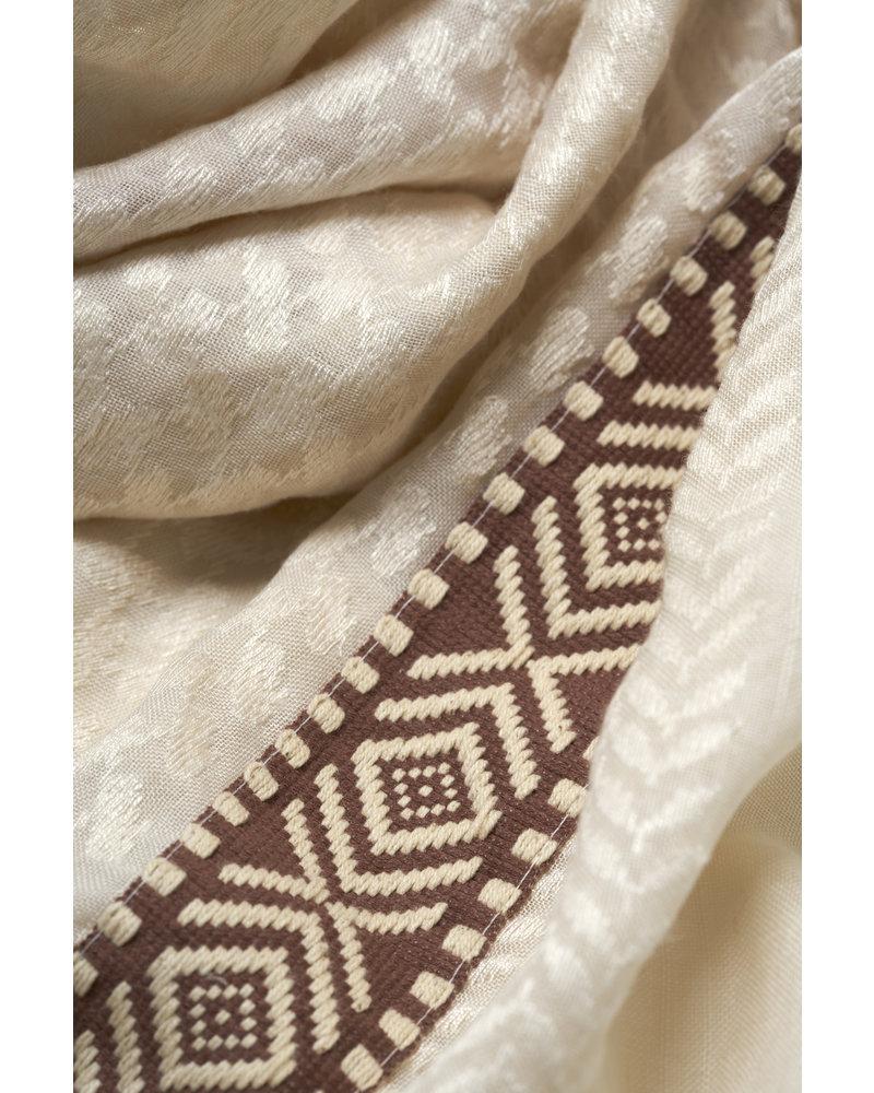 Izuskan Izuskan grote sjaal kiezelstenen