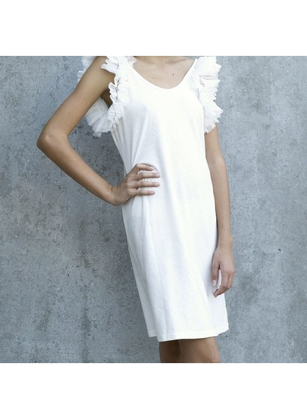 Izuskan Biarritz short tule dress uni