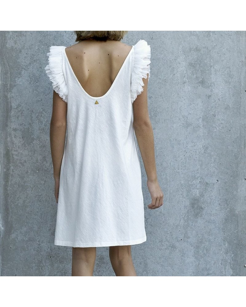 Izuskan Biarritz short tule dress uni