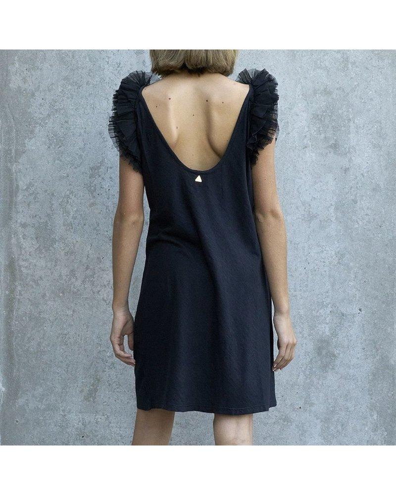 Izuskan Biarritz korte tule jurk uni