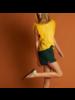 21byizuskan Ibiza Tule T-Shirt Uni Schwefel