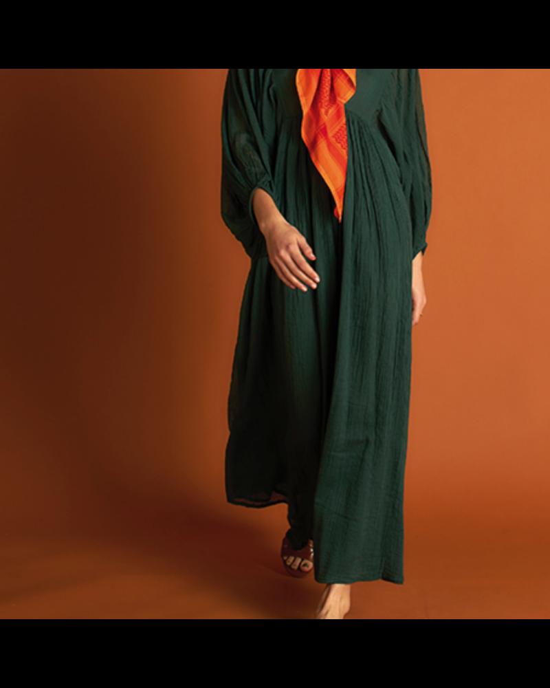 21byizuskan Bondi lange jurk flessen groen