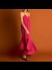 21byizuskan Honolulu lange jurk frambozensorbet