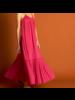 21byizuskan Honolulu vestido largo sorbete de frambuesa