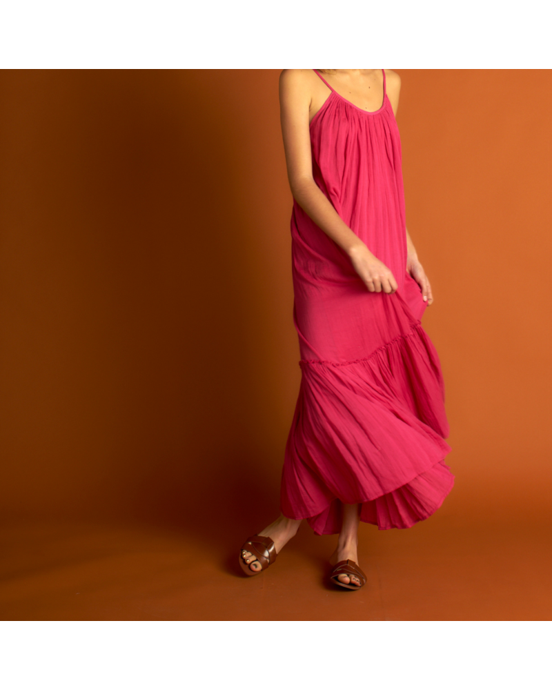 21byizuskan Honolulu langes Kleid Pastell Rose