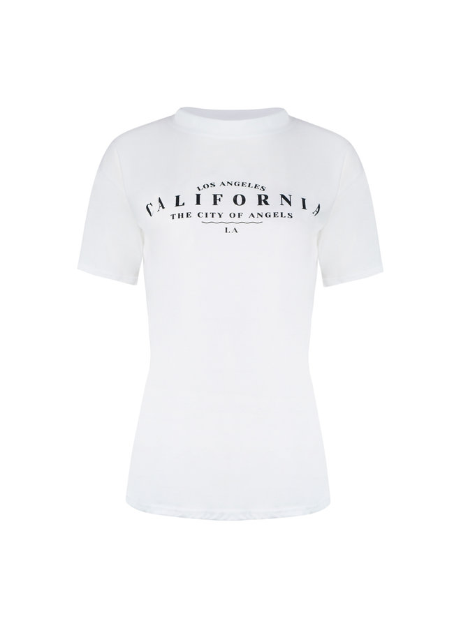 California t-shirt - white