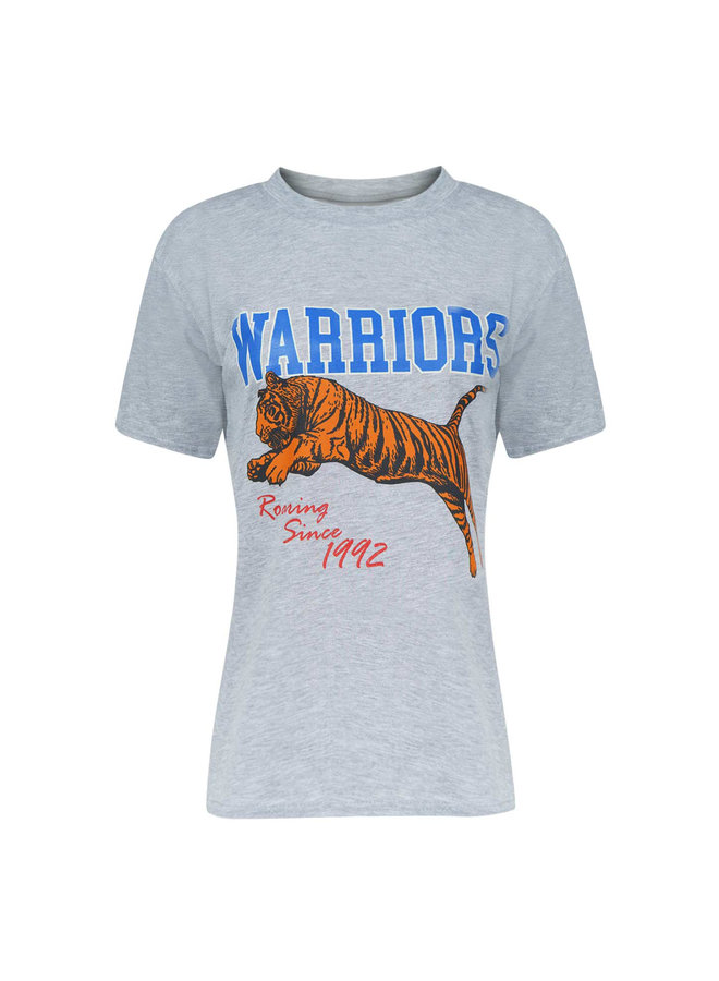 Warrior t-shirt - grey