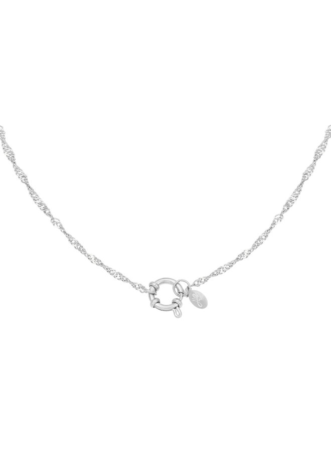 Dee necklace - silver