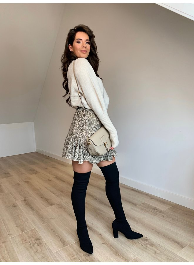 Jana glitter pullover - creme