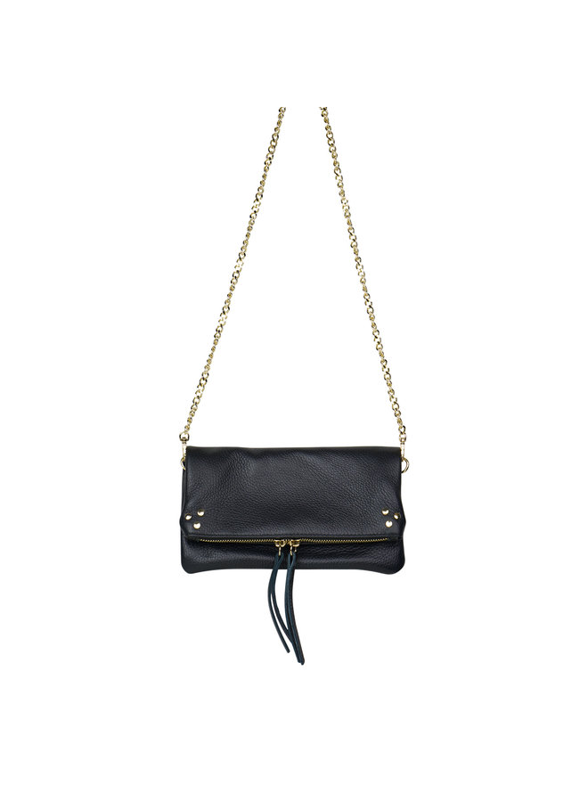 Volly leather bag - black
