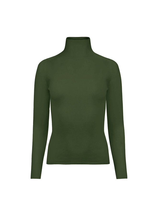 Louise col - green