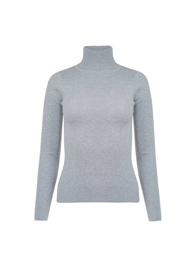 Louise col - grey