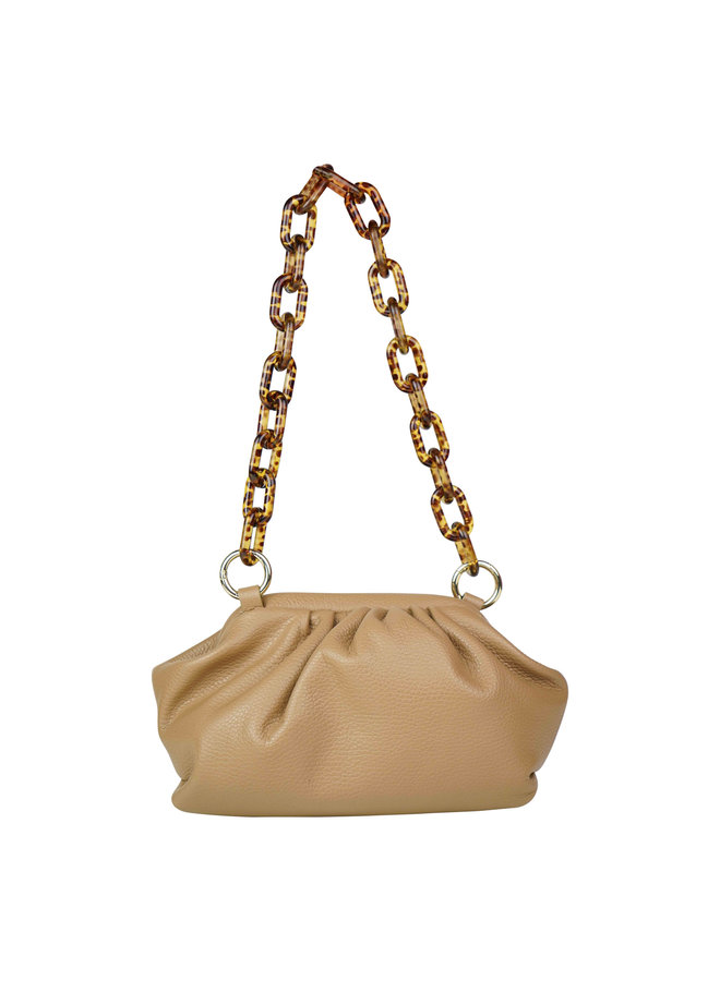 Chrissy leather bag - camel