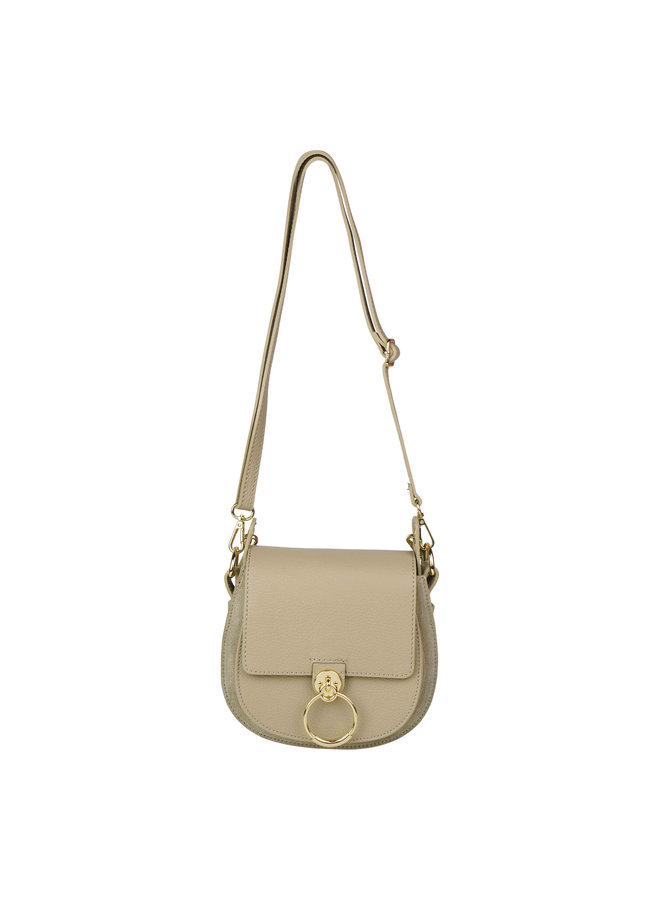 Gianna leather bag - taupe
