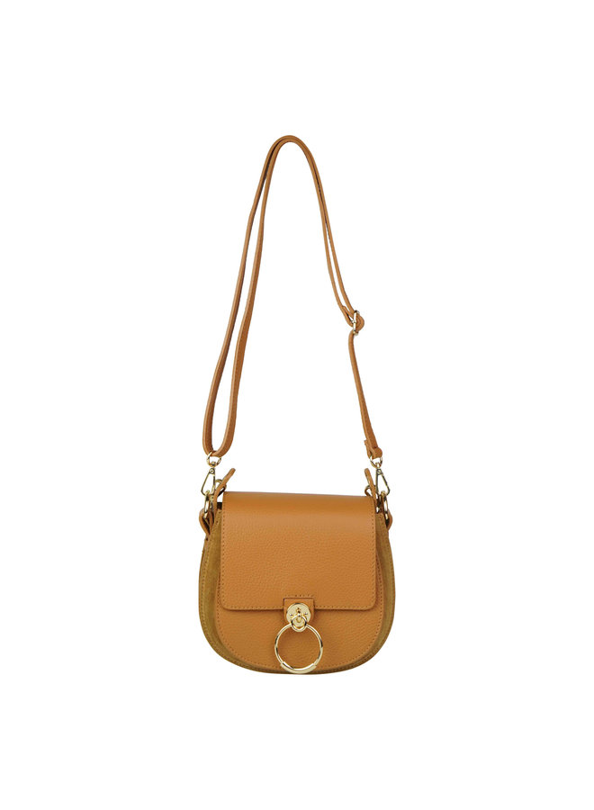 Gianna leather bag - camel