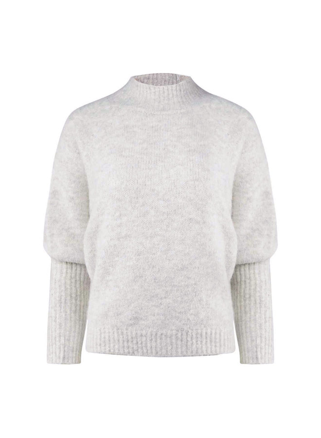 Jana glitter pullover - light grey