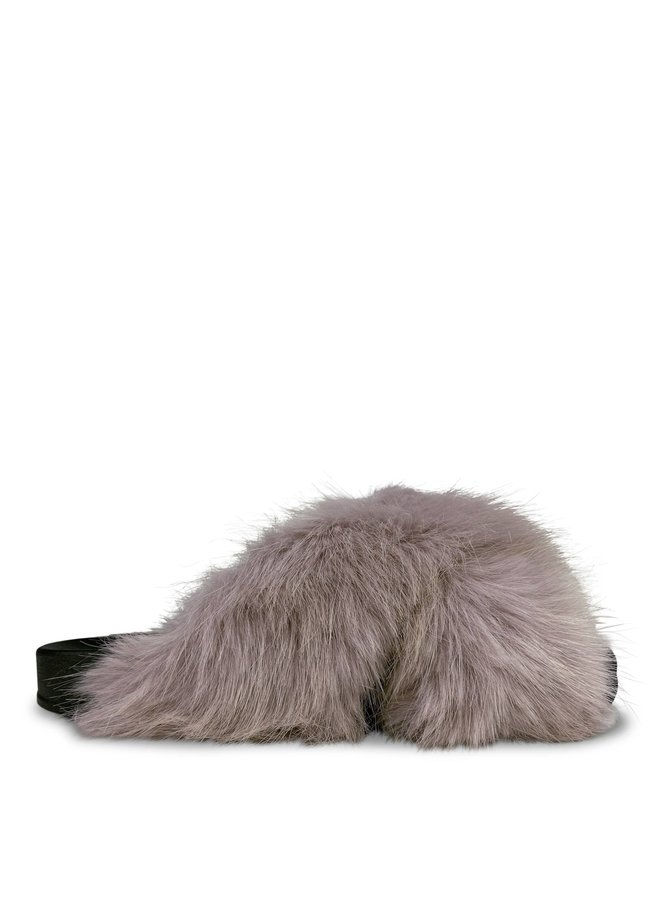 Maxime fluffy slippers - beige