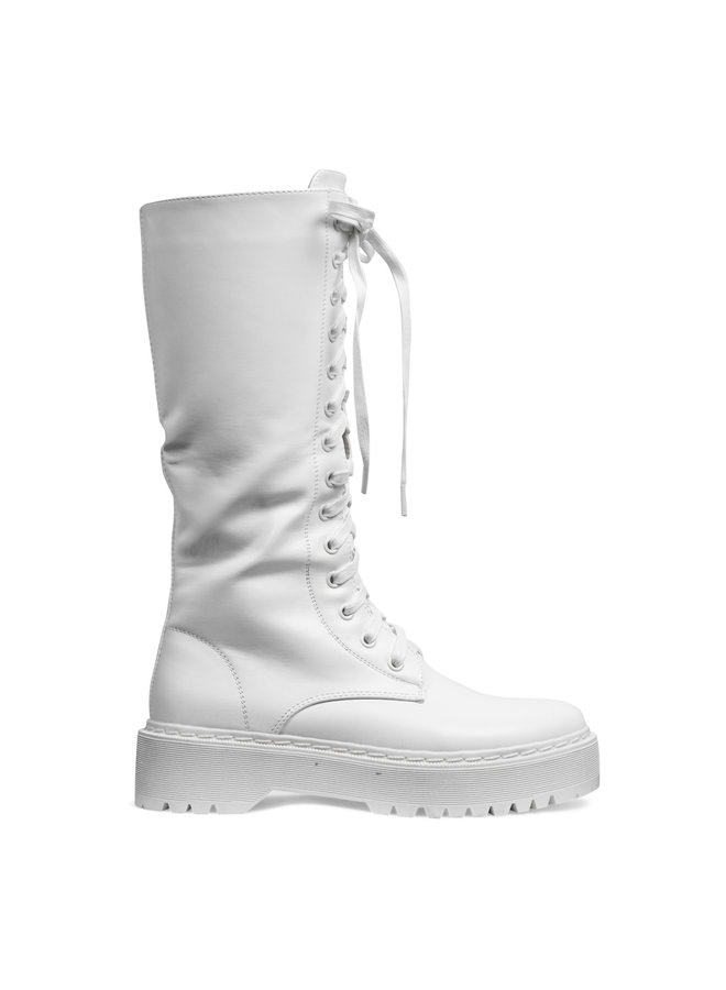 Liva boots long - off white