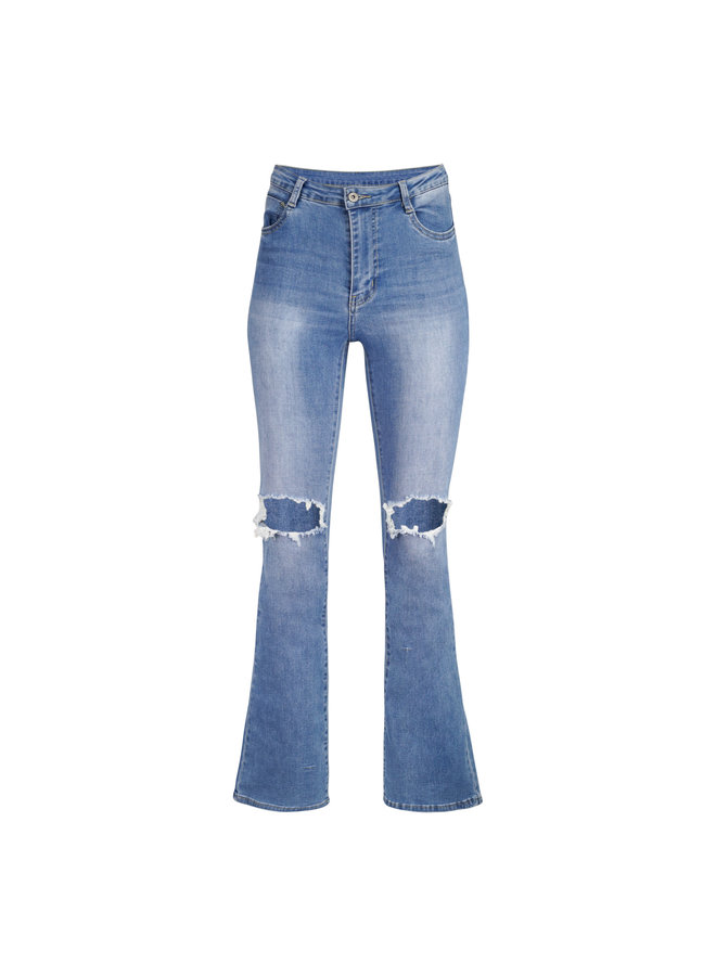 Robyn flared jeans - blue