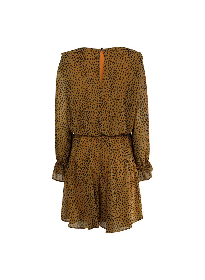 Sienna Leo dress - brown