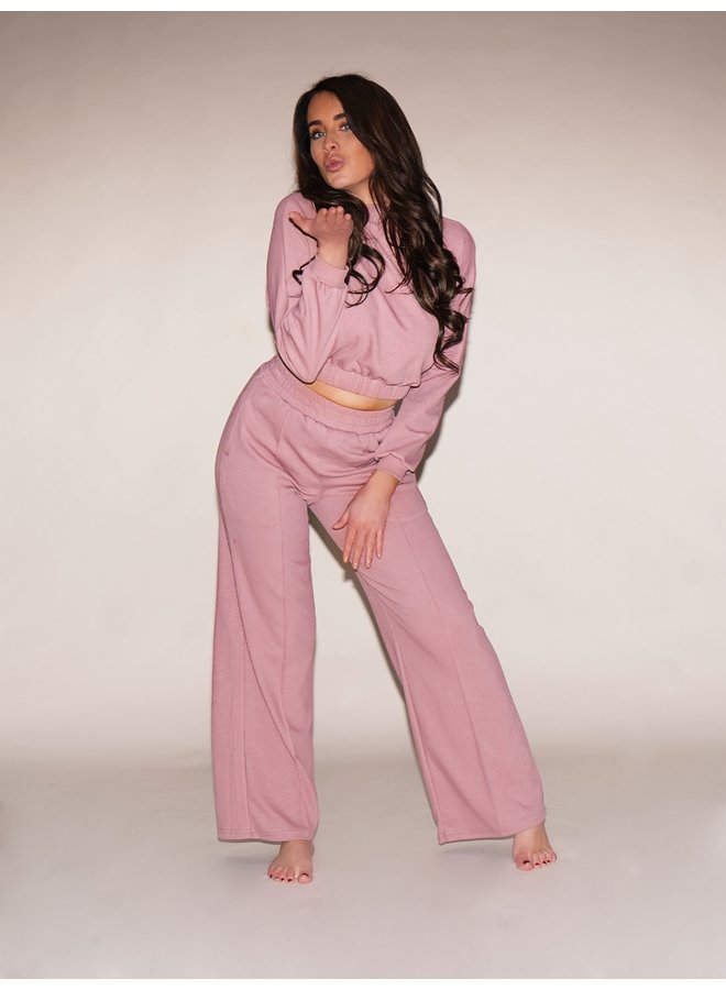 Myla luxe comfy set - dusty pink