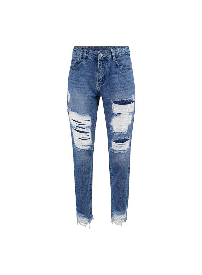 Lesley mom jeans - blue