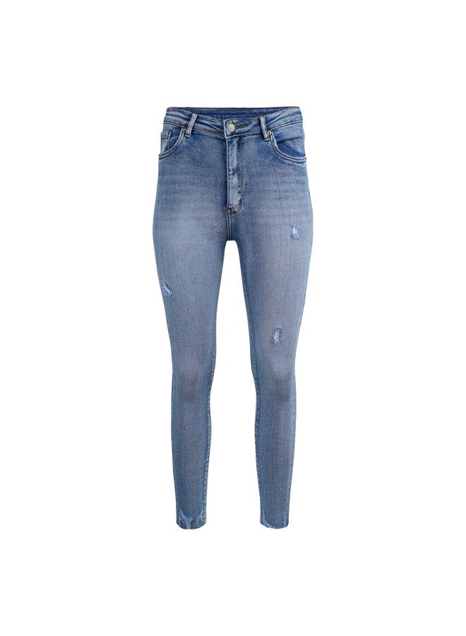Floor skinny jeans - blue