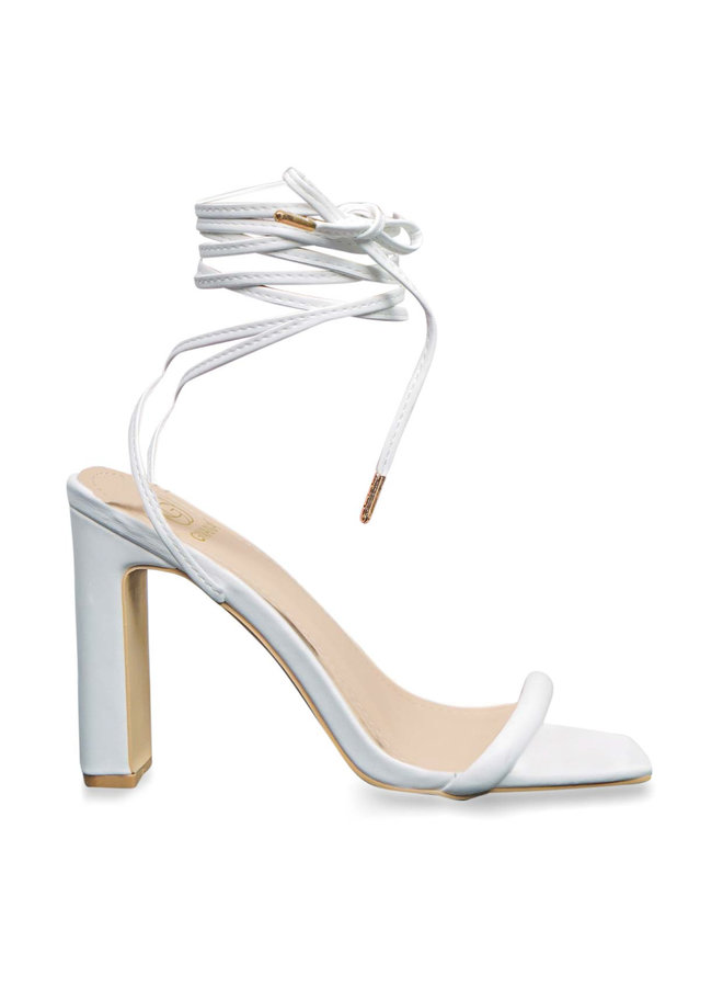 Vera heels - white